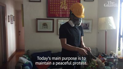 'We are trying to save Hong Kong': the political uprising through the eyes of a protester