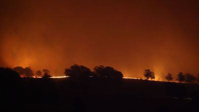 Dramatic video shows bushfires turning day to night in Australia