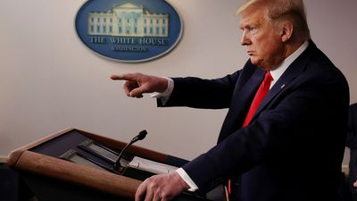 Trump's changing reactions to coronavirus: from calm to closing borders