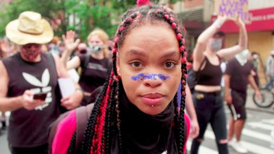 Inside the George Floyd protests in New York: 'we are not the problem'