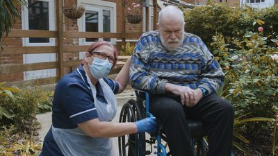 Masks, beers and 2m visits: life in a care home after a coronavirus outbreak