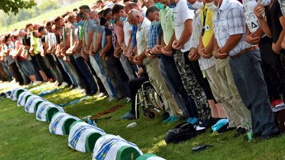 'We will haunt you': survivors mark 25th anniversary of Srebrenica massacre