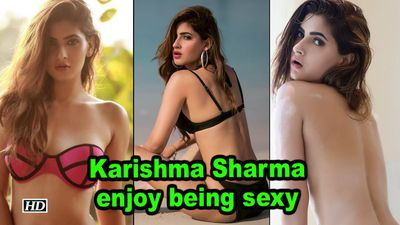 Karishma Sharma: I enjoy being sexy