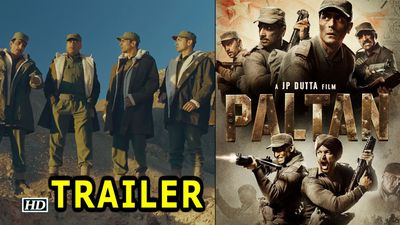 Paltan TRAILER out | The War Drama Begins