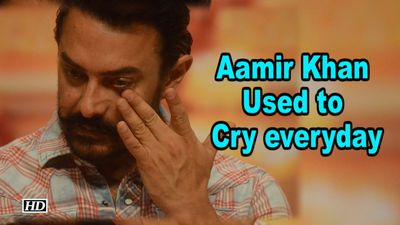 I Used to Cry everyday- Aamir Khan