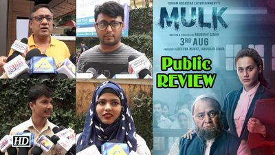 Mulk Public Review | Rishi-Taapsee's film based on a real-life story