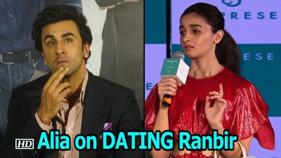 Alia on DATING and working with Ranbir in 'Brahmastra'