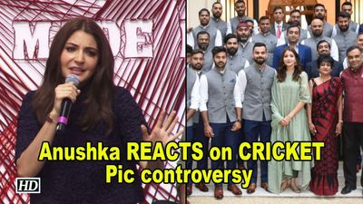 Anushka REACTS on her CRICKET Pic controversy with Virat