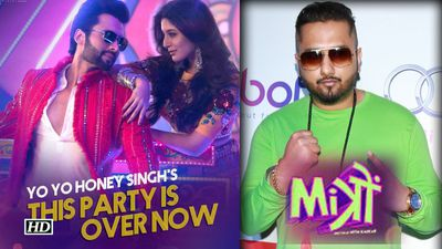 YO YO Honey Singh SONG | The Party Is Over Now | Mitron | Jackky & Kritika swag