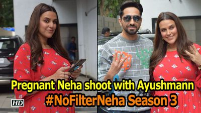 Pregnant Neha Begins #No Filter Neha Season 3 with Ayushmann