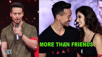 'More than Friends' CONFESSES Tiger Shroff with Disha Patani