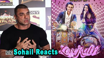 Sohail REVIEWS & Responds to Aayush's 'Loveratri' Controversy