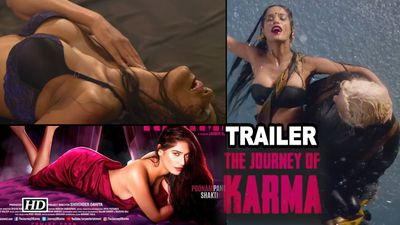 Poonam Pandey 'The Journey of Karma' TRAILER