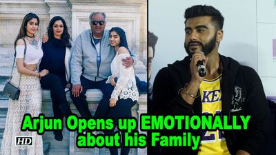 Arjun Kapoor Opens up EMOTIONALLY about his Family