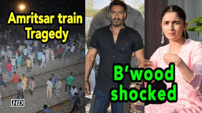 Amritsar train tragedy: Bwood shocked, express condolences