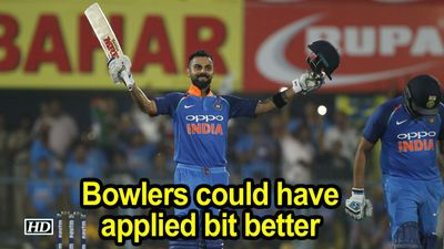India Vs WI | 1st ODI | Bowlers could have applied bit better, says Kohli