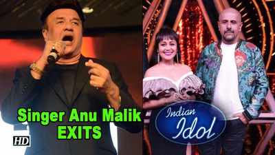 Singer Anu Malik exits INDIAN IDOL