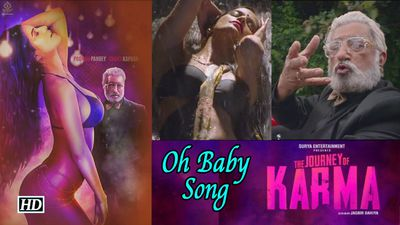 Oh Baby Song | Poonam Pandey on a long drive with Shakti Kapoor