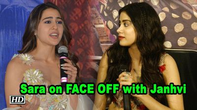 Sara on FACE OFF with Janhvi as a Debutant