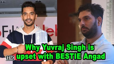 Why Yuvraj Singh is upset with BESTIE Angad Bedi!
