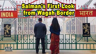 Salman shares BHARAT First Look from Wagah Border