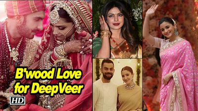 Bollywood wishes DeepVeer Happiness Forever