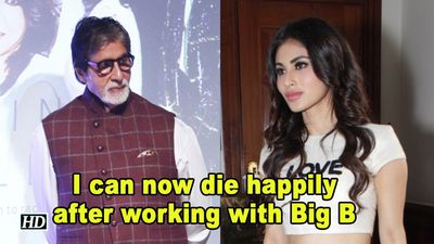 I can now die happily after working with Big B: Mouni Roy