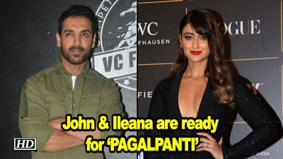 John & Ileana are ready with upcoming PAGALPANTI