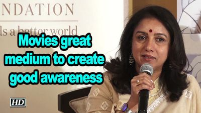Movies great medium to create good awareness, says Revathi