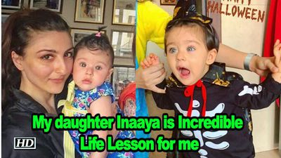 Soha says My daughter Inaaya is Incredible Life Lesson
