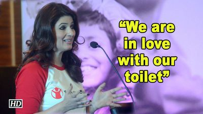 We are in love with our toilet| Twinkle Khanna