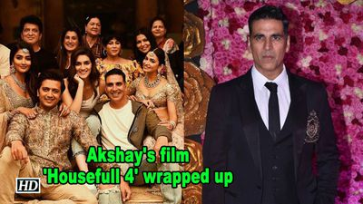Akshay's film 'Housefull 4' wrapped up