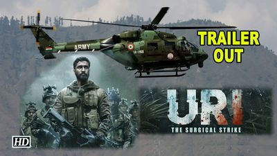 URI: The Surgical Strike TRAILER OUT   Vicky Kaushal give you goosebumps