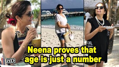 Neena Gupta proves that age is just a number