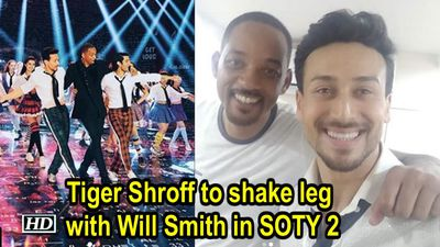 Tiger Shroff to shake leg with Will Smith in SOTY 2
