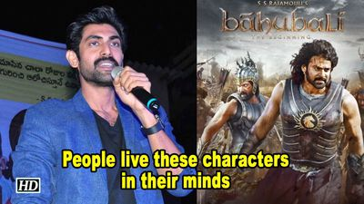 Rana Daggubati on Baahubali Franchise: People live these characters in their minds
