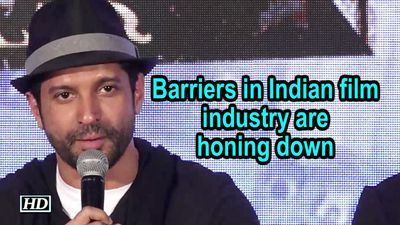 Barriers in Indian film industry are honing down : Farhan Akhtar