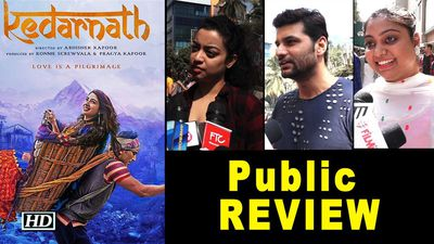 Public REVIEW KEDARNATH | Sara ali khan Steals the show | Sushant Singh Rajput