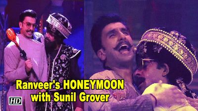 Ranveer's HONEYMOON with Sunil Grover| Kanpur Waale Khuranas