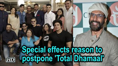 Special effects reason to postpone 'Total Dhamaal': Javed Jaffrey