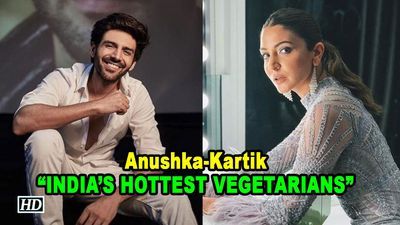 Anushka, Kartik are INDIAS HOTTEST VEGETARIANS