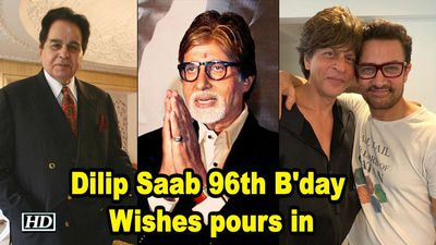 Happy Birthday Dilip Saab; Wishes pours in