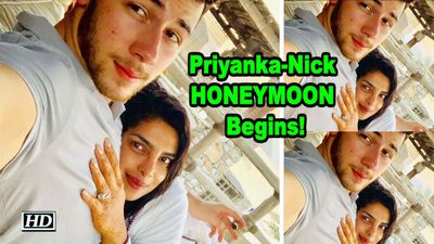 Priyanka - Nick HONEYMOON Begins!