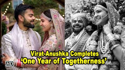 Virat - Anushka Completes One Year of Togetherness