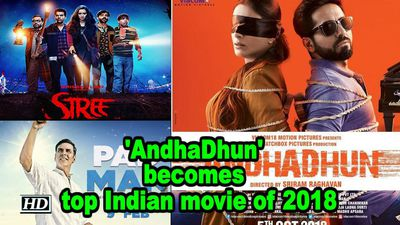 Ayushmann's 'AndhaDhun' becomes top Indian movie of 2018 : IMDb