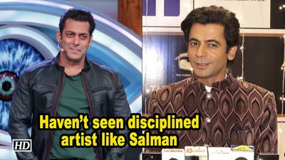 Sunil on Salman Khan: Havent seen disciplined artist like him