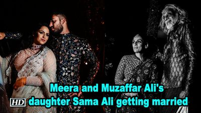 Meera and Muzaffar Ali's daughter Sama Ali getting married