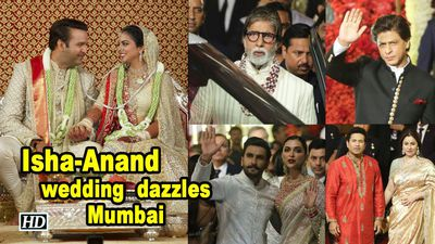 Isha Ambani and Anand Piramal's wedding dazzles Mumbai