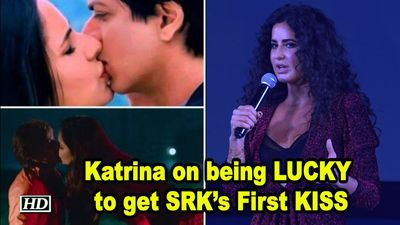 Katrinas response on being LUCKY to get SRKs First KISS
