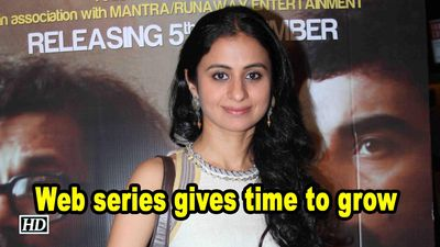 Web series gives time to grow : Rasika Duggal